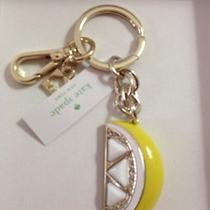 Kate Spade Lemon Wedge Key Fob Dust Bag and Gift Box Included T9291 Photo