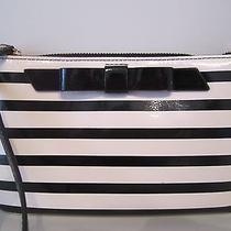 Kate Spade Lolly Chelsea Park Patent Stripe Wristlet Nwt Photo