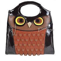 Kate Spade Maximilian Maxwell Owl Handbag Purse Patent Leather Suede Nwt Bag New Photo