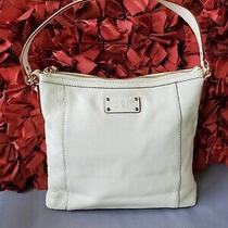 Kate Spade Mediumcream/ Off White/ Ivory Hobo Shoulder Bag Purse Mint Photo