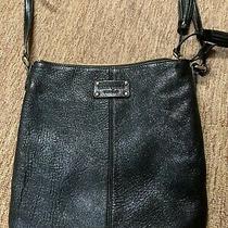 Kate Spade New Black Leather Medium Shoulder Bag Photo