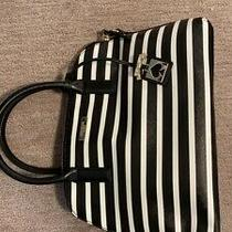 Kate Spade New York Adel Leather Bag 129 White & Black Photo