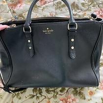 Kate Spade New York Black Tote Shoulder Bag (Could Hold Laptop) Photo