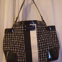 Kate Spade New York/ Classic Noel/ Black Diaper Bag Tote Photo