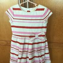 Kate Spade New York Girls Dress Size 4 Red Pink White.  Worn Just a Few Times. Photo