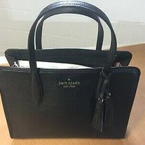 Kate Spade New York Large Handbag Purse Black Photo