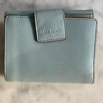 Kate Spade New York Leather Wallet Blue Photo