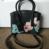 Kate Spade New York Margaux Brush Bloom Mini Satchel Leather Style Pxrua812 Photo