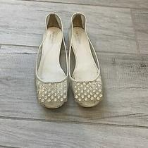 Kate Spade New York Pvc Party Flat With Swarovski Crystals - Size 8 Photo