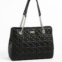 Kate Spade New York Sedgewick Place Phoebe Quilted Shoulder Handbag Purse Black Photo