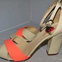 Kate Spade New York Two Tone High Heel Sandalsshoes Sz 6b - New Photo