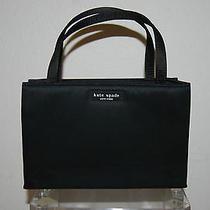 Kate Spade New York Very Small Black Carry Wrist Handbag Photo