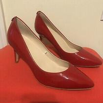 Kate Spade New York Vida Patent Leather Red Pumps Size 8.5m 228 New Photo
