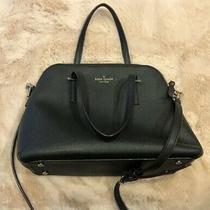 Kate Spade New York Womens Crossbody Bag - Leather Black Photo