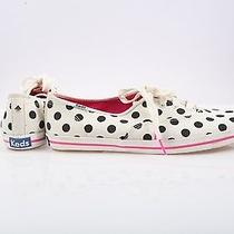 Kate Spade Ny Keds Sneakers Kick Casual Shoes White Black Polka Dot Size 10 Nwob Photo