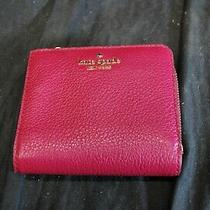 Kate Spade Pink Leather Coin Purse -A10 Photo