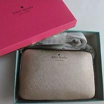 Kate Spade Pre-Boxed Mikas Pond Clover Cross Body Rose Gold New Photo