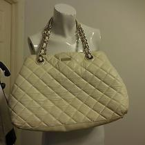 Kate Spade Quilted Chain Handbag Off White  Photo