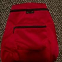 Kate Spade Red Backpack Photo