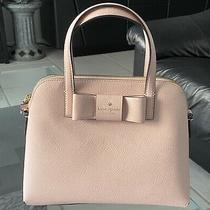 Kate Spade Robinson Street Maise Blush Colored Leather Satchel Preowned/perfect Photo
