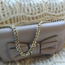 Kate Spade Rosewood Place Milou Clutch/wallet Grey With Detachable Gold Chain Photo