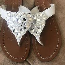 Kate Spade Sandals 6.5 White  Photo