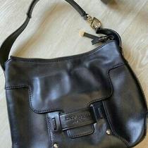 Kate Spade Savona Paige Black Flap Hobo Shoulder Bag Purse  Rare Photo