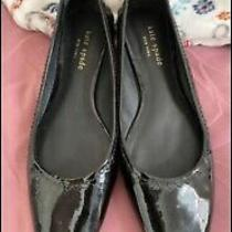 Kate Spade Size 6 Black Patent Leather Flats Photo