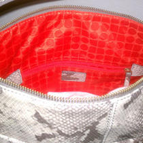 Kate Spade Snakeskin Purse With the Originial Dust Bag Photo