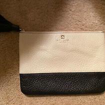 Kate Spade Women's Clutch Bag in Black/white Photo
