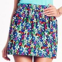 Kate Spade Womens 4 Henrita Floral Print Full Bloom Mini Skirt With Pockets Photo