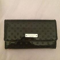 Kate Spade Wristlet Iphone 5 & 5s Black Patent Leather Photo