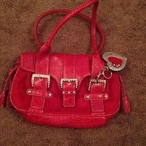 Kathy Purse Handbag Red Heart  Photo