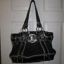 Kathy Van Zeeland Black/black Handbag Photo