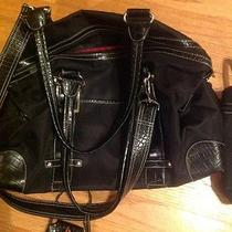 Kathy Van Zeeland Black Diaper Bag Photo