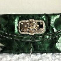 Kathy Van Zeeland Handbag/clutch  Green  Photo