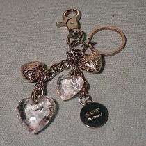Kathy Van Zeeland Metal Keychain Acrylic Hearts  Photo