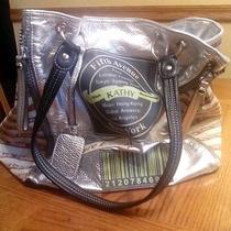 Kathy Van Zeeland Pure Luxe Silver Handbag Photo