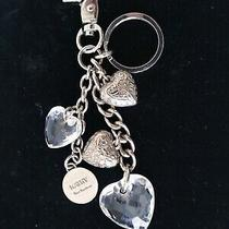 Kathy Van Zeeland Silver Key Chain Ring Fob Keychain  Hearts Photo