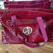 Kathy Van Zeeland Women's Computer Bag (Red) Photo