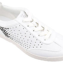 Kathy Van Zeeland Women Shoes A202547 Fashion Lace Up Sneakers 11 White Nib Photo