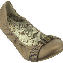 Kathy Van Zeeland Women Shoes Holland Ballet Flats 6 Bronze New in Box  Photo