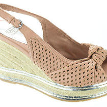 Kathy Van Zeeland Women Shoes Sakura Espadrille Wedge 7 Pink New in Box  Photo