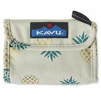 Kavu Wally Trifold Wallet With Coin Pocket and Key Ring - Pineapple Express Photo