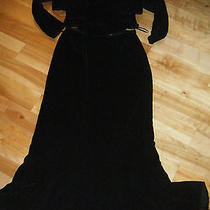 Kay Unger Black Velvet Corset Dana Buchman Skirt Photo