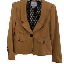 Kay Unger Blazer Jacket Womens Brown Size 4 Photo