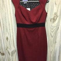 Kay Unger Red  Dress Size 8 Photo
