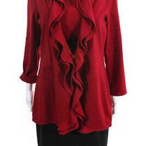 Kay Unger Womens Jacket Boat Neck Sheath Dress Suit Set Black Red Size 10 Photo