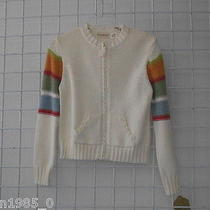 Kc Parker Boutique Sunset Zippered Cardigan Size 14/16 Photo