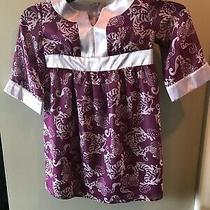 Kc Parker Girlls Dress Size 4 Purple With Chinese Dragons Photo